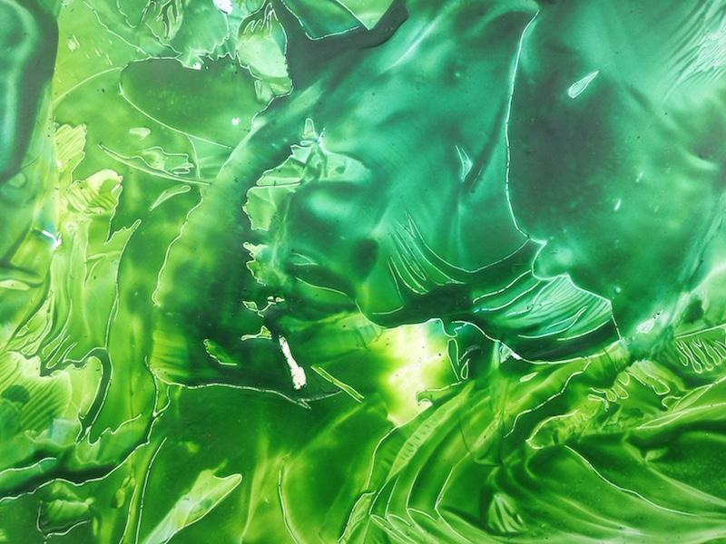 Energie - encaustic art, enkaustický obraz